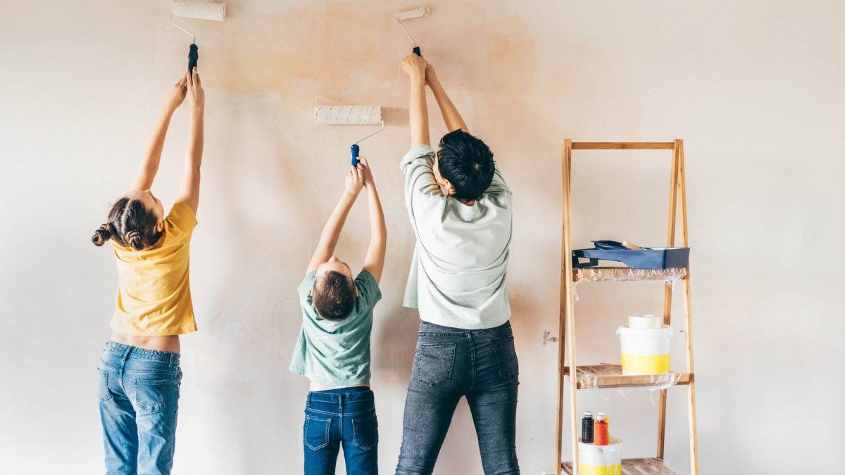 Interior painting is a great winter home improvement project for Michiganders, and S&S Property Preservation provides the best painting services in Metro Detroit.